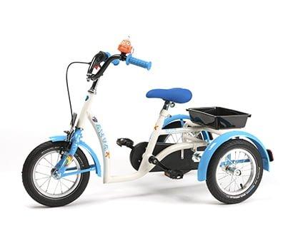 Web Tricycle Model Aqua White