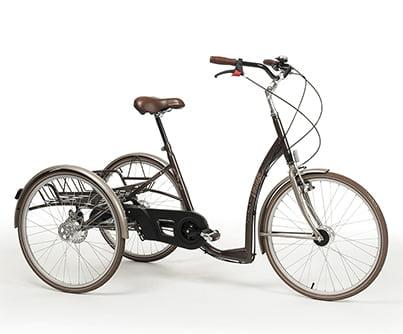 Web Tricycle Adult Retro Vintage Brown
