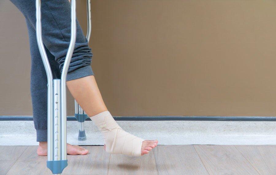 Rottura Legamenti Caviglia
